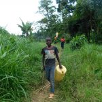 The Water Project: Emurumba Community, Makokha Spring -  Children Going To The Stream