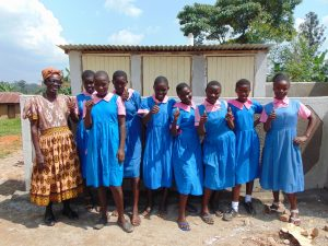 The Water Project:  Thumbs Up For Latrines