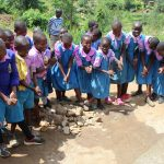 The Water Project: Kapchorwa Primary School -  Handwashing Practice