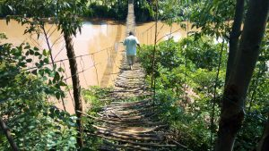 The Water Project:  Bridge Over River Nzoia