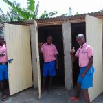 The Water Project: Irovo Orphanage Academy -  Boys With Their New Latrines