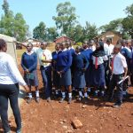 The Water Project: Ikumba Secondary School -  Explaining Tank Maintenance