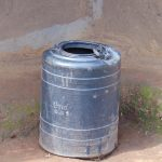 The Water Project: Kimarani Community, Kipsiro Spring -  Plastic Tank For Rainwater Collection