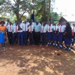 The Water Project: Ikumba Secondary School -  Training Group In Smiles