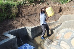 The Water Project:  Mounting His Water