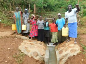 The Water Project:  Cheering Women At The Spring