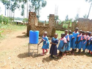 The Water Project:  Lining Up For Handwashing