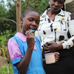 The Water Project: Kapchorwa Primary School -  Brushing Teeth