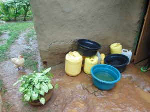 The Water Project:  Water Stored For Domestic Use