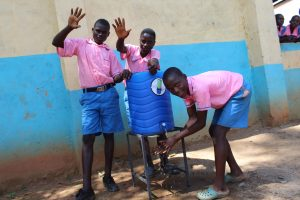 The Water Project:  Boys Washing Hands