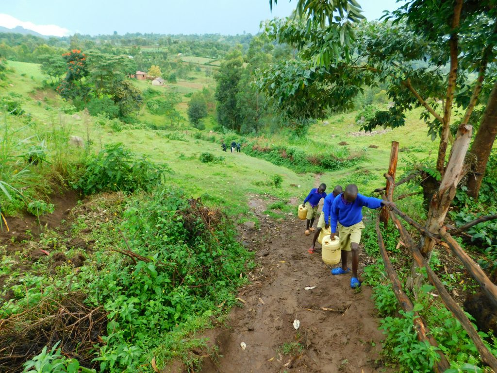 The Water Project : 24-kenya19067-on-the-path-back-to-school