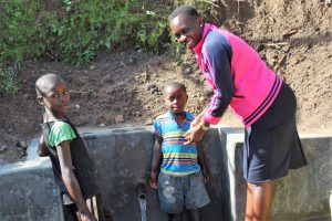 The Water Project:  Field Officer And Kids