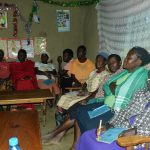 The Water Project: Shamiloli Community, Kwasasala Spring -  Training Held Inside