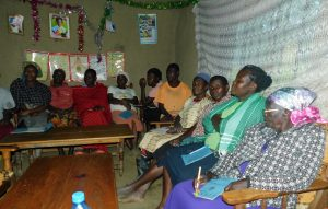 The Water Project:  Training Held Inside