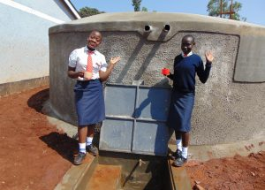 The Water Project:  Girls At The Tank