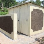 The Water Project: Kapchorwa Primary School -  Completed Latrines
