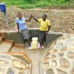 The Water Project: Shihingo Community, Inzuka Spring -  Completed Spring