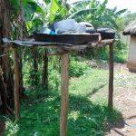 The Water Project: Bukhaywa Community, Shidero Spring -  Dishrack