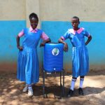 The Water Project: Irovo Orphanage Academy -  Girls With Handwashing Station