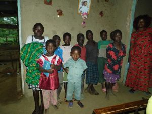The Water Project:  Young Participants At Training