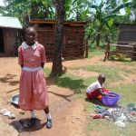 The Water Project: Bukhaywa Community, Ashikhanga Spring -  Children At Home