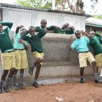 The Water Project: Makunga Primary School -  Boys At Their Vip Latrine