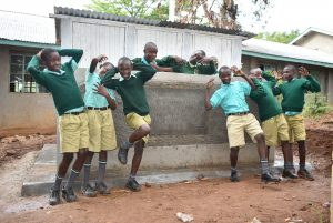 The Water Project:  Boys At Their Vip Latrine