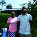 The Water Project: Ewamakhumbi Community, Mukungu Spring -  John Akaliche With Family Family