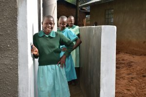 The Water Project:  Girls At Their Vip Latrine