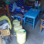 The Water Project: Mukangu Community, Metah Spring -  Water Storage