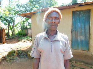 The Water Project:  Robert Mukungu Spring Landowner