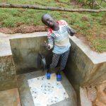 The Water Project: Mutao Community, Kenya Spring -  Smiles At Kenya Spring