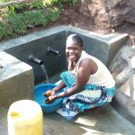 The Water Project: Buhayi Community, Nasichundukha Spring -  Finally Clean Water
