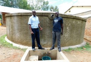 The Water Project:  Andrew And Field Officer Wilson
