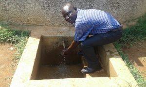 The Water Project:  Deputy Head Teacher Aggrey Kadagi