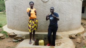 The Water Project:  Karen And Field Officer Erick