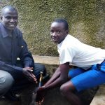 The Water Project: Rabuor Primary School -  Deputy Head Teacher Godfrey Ochieng With Student