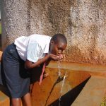 The Water Project: Shitoli Secondary School -  Barbra Takes A Drink