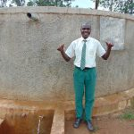 The Water Project: Injira Secondary School -  Dennis Isiaho