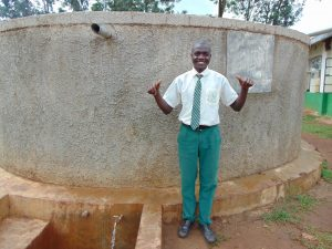 The Water Project:  Dennis Isiaho