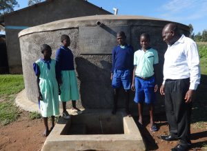 The Water Project:  Running Water At Musabale Primary