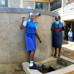 The Water Project: Eshisenye Girls Secondary School -  Everline With Principal Osore