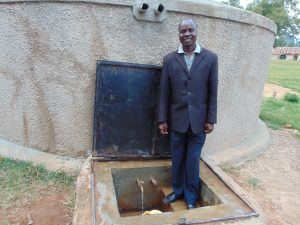 The Water Project:  Mr Gerald Luvembe
