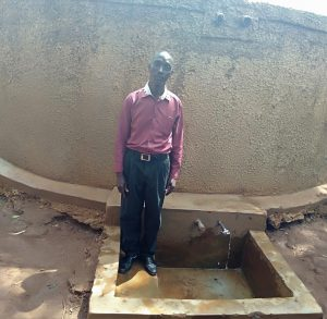 The Water Project:  Sanitation And Health Teacher Mr Isaac Anunda
