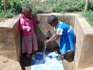 The Water Project:  Children At The Spring
