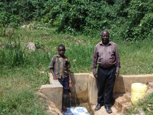 The Water Project:  Timothy Alulu And Mr Luvembe