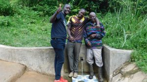 The Water Project:  Field Officer Eric Wagaka Joins William And John