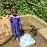 The Water Project: Jivovoli Community, Wamunala Spring -  Valentine Nasimiyu