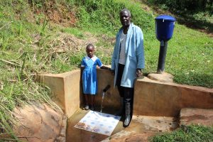 The Water Project:  Samuel With Natasha Lungaso
