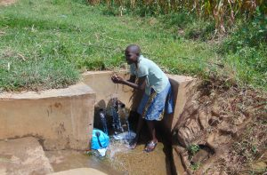 The Water Project:  Lucy Goes For A Splash
